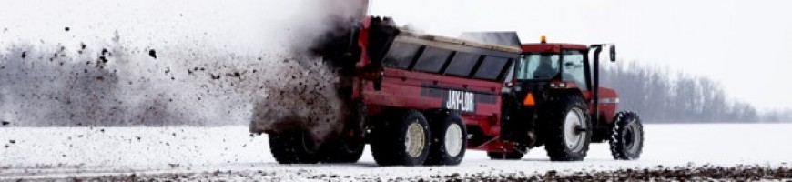 WESTERN ONTARIO - Farmer fined over $30,000 for spreading manure on frozen ground