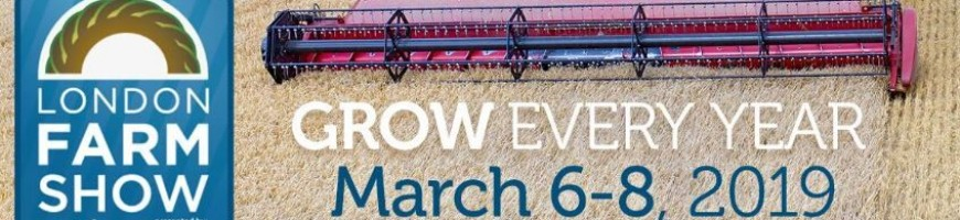 Come Visit Us at the 2019 London Farm Show!